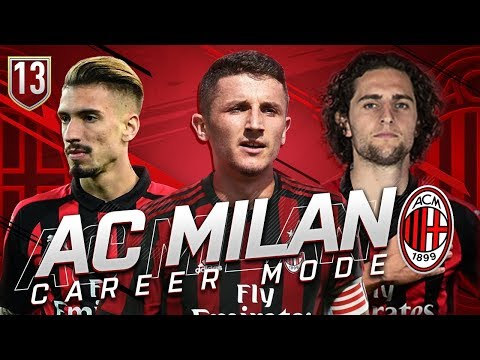 FIFA 19 AC MILAN CAREER MODE #13 - EPIC DERBY DELLA MADONNINA!!!