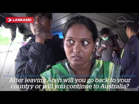 Want to go to Australia the Tamil refugees in Indhoneshiya