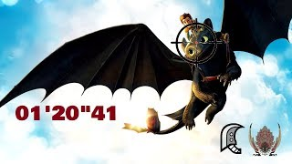"""Bazelgeuse 01'20""""41 - Bazelgeuse in the Field of Fire - MHW PC"""
