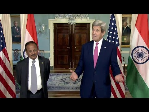 Secretary Kerry Meets with National Security Advisor Doval of India