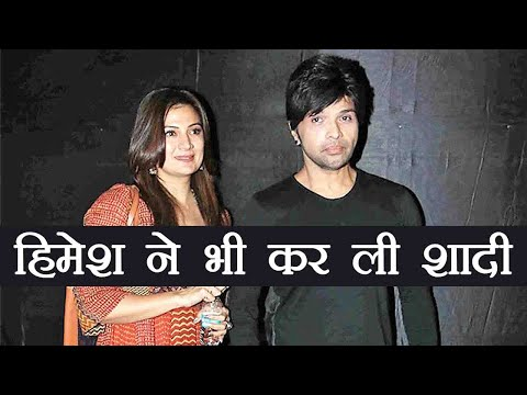 Himesh Reshammiya gets married to TV actress Sonia Kapoor ; Watch Video | FilmiBeat