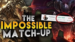 THE IMPOSSIBLE MATCHUP?! HOW TO DEAL WITH COUNTERS ON RENEKTON TOP - League of Legends Gameplay