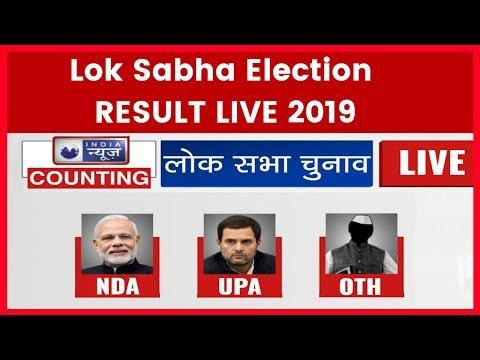 Lok Sabha Election RESULT  2019 Narendra Modi +345 Rahul Gandhi +83 Others +114