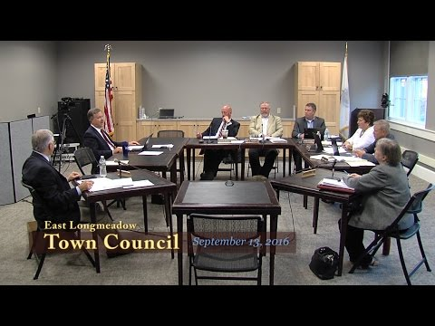 Town Council, September 13, 2018