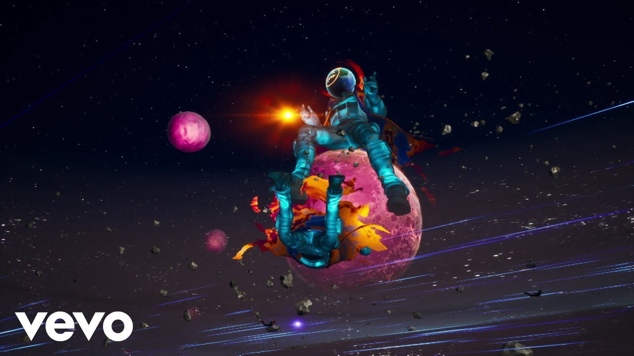 THE SCOTTS, Travis Scott, Kid Cudi - THE SCOTTS (FORTNITE ASTRONOMICAL EVENT)