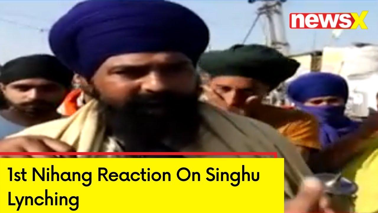 Download 1st Nihang Reaction On Singhu Lynching | 'Guru Granth Sahib Was Insulted' | NewsX