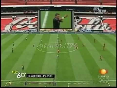 América Vs. Toluca (0-1) Cuartos de Final Clausura 2004 ***Futbol Retro***