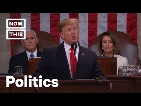 How Often Did Trump Lie at the State of the Union? Fact Check Supercut | NowThis