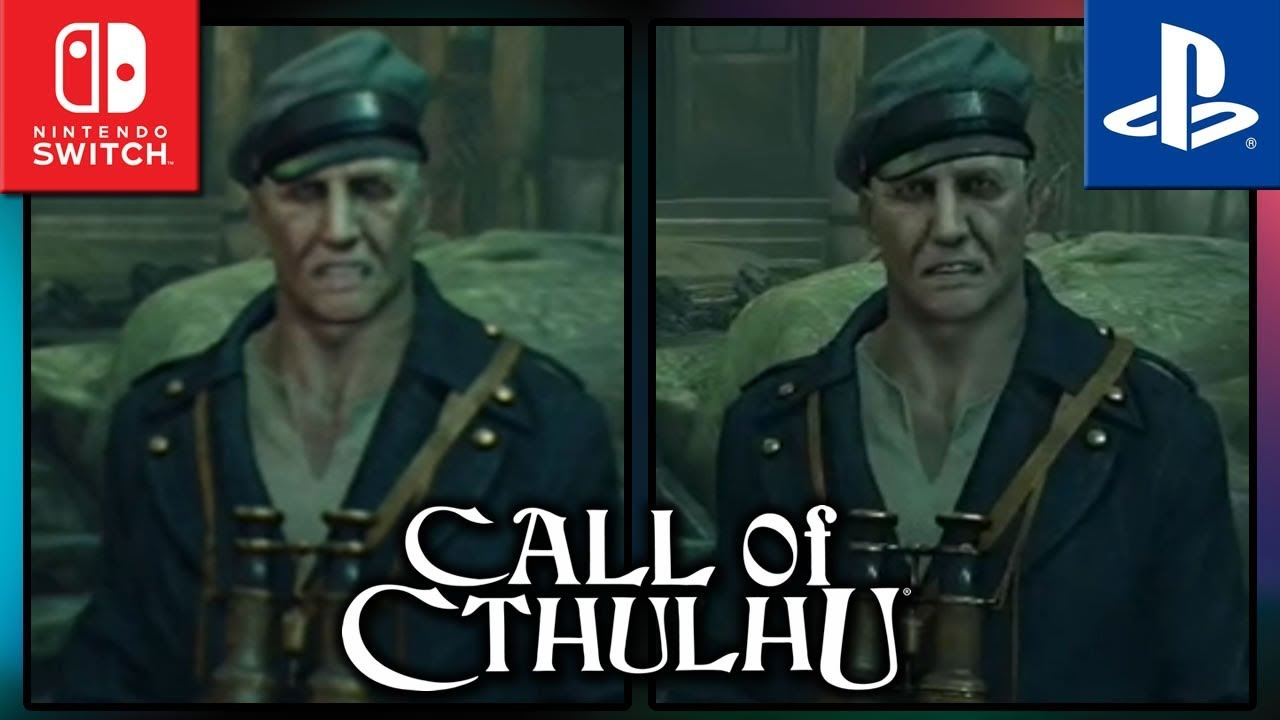 Call of Cthulhu | Switch VS PS4 | Graphics Comparison