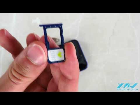 Как вставить SIM-карту в Huawei P20 Lite (XDRV.RU)