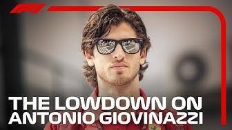 The Lowdown On Antonio Giovinazzi