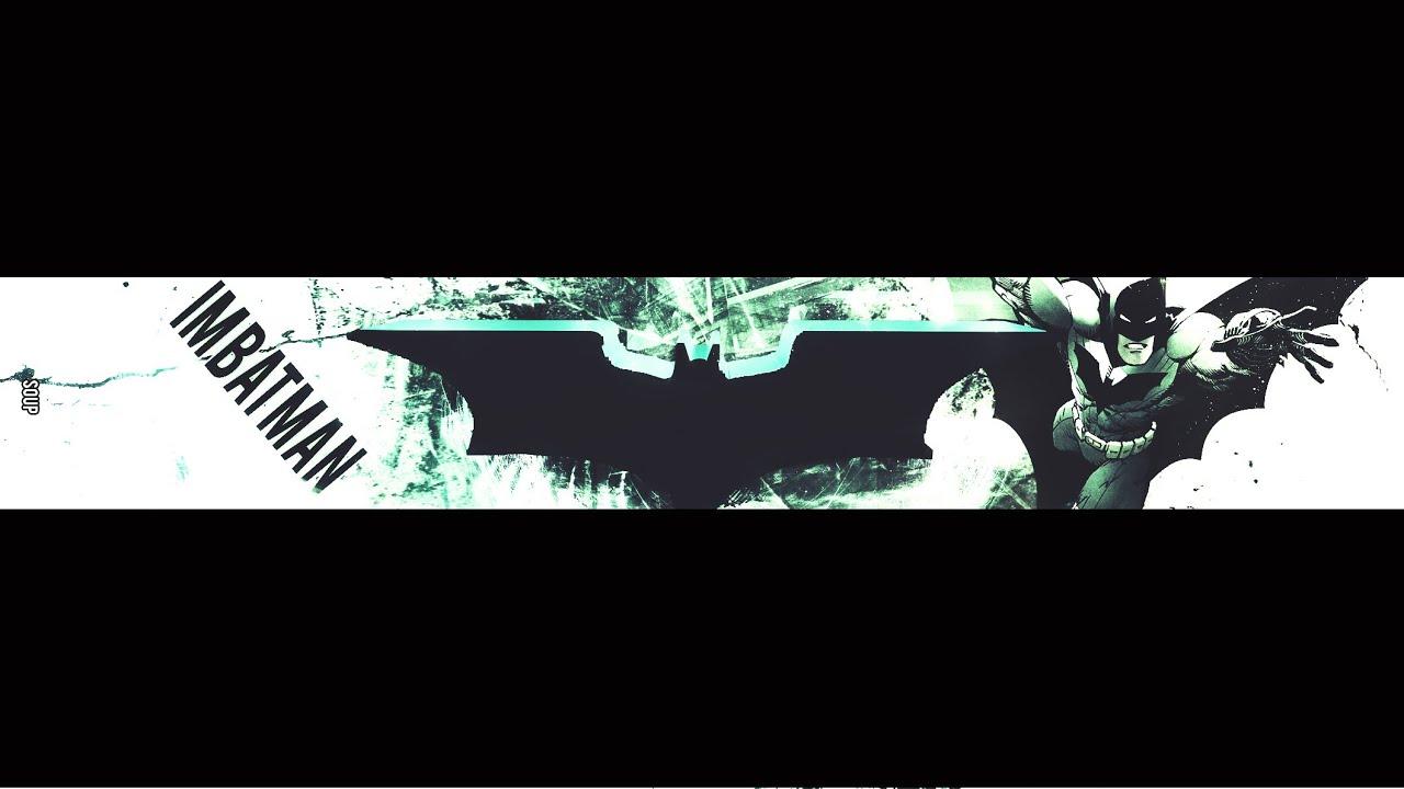 I M Batman Banner Speed Art Youtube