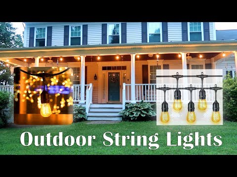 💥MaLivent Outdoor Patio String Lights (48 ft) Warm White LED Hanging Lights Review 👈