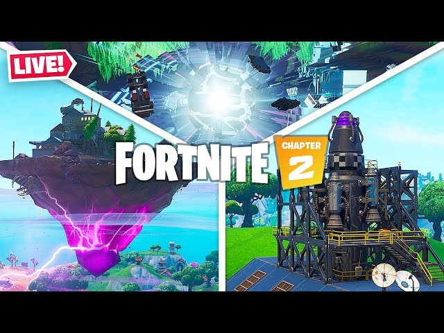 FORTNITE *SEASON 11* LIVE EVENT!! New Chapter 2 Battle Pass, Map & Skins! (Fortnite Battle Royale)