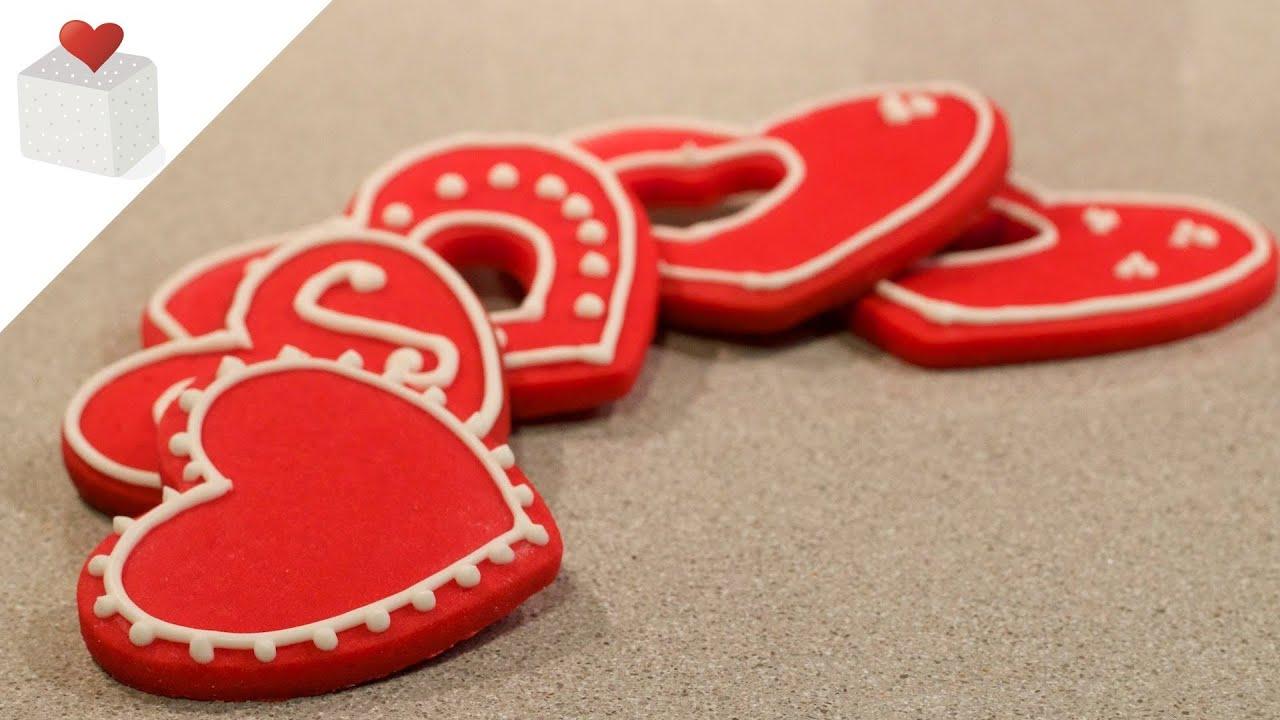Cómo Hacer Galletas Coloreadas Ideales Para San Valentín Trucos Para Galletas Por Azúcar Con Amor