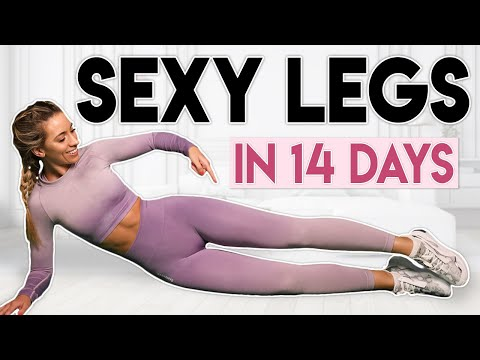 SEXY LEGS in 14 Days (lose & burn fat)   8 minute Home Workout
