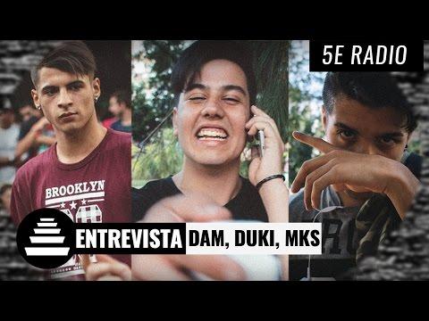 DUKI + MKS + DAM / Entrevista - El Quinto Escalon Radio (20/03/17)