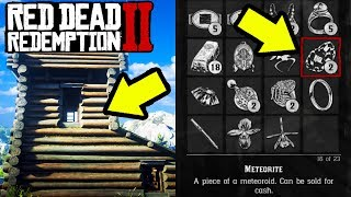 SECRET HOUSE WITH SECRET ITEMS! Red Dead Redemption 2 Best Easter Eggs!