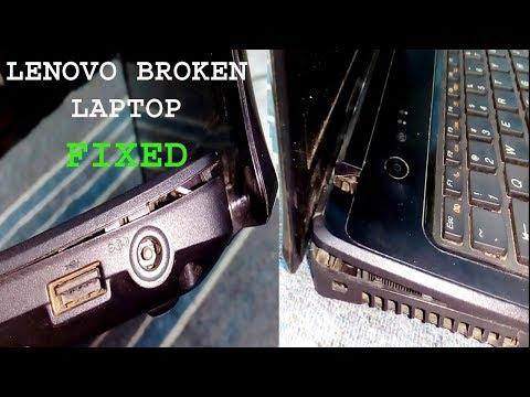 How to repair Lenovo broken laptop case | G570/G470