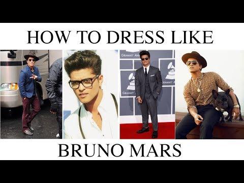 How To || Dress Like Bruno Mars