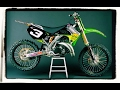 2003 Kawasaki KX125 On A Supercross Track