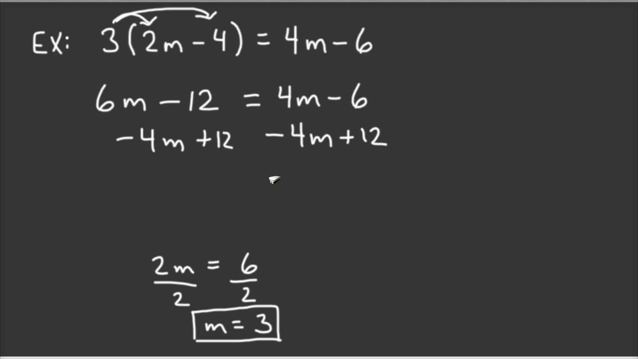solving equations grade 7 7th grade math solving two step equations youtubebalancing. Black Bedroom Furniture Sets. Home Design Ideas