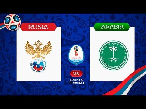🇷🇺Rusia Vs Arabia Saudita 🇸🇦Grupo A, Jornada 1 📆Mundial Rusia 2018  ⚽Predicciones En FIFA 18 🎮