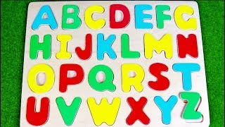 ABCD learn Alphabet with Baby toy board アルファベットを形あわせで学ぶ ABC Song | ABCの歌