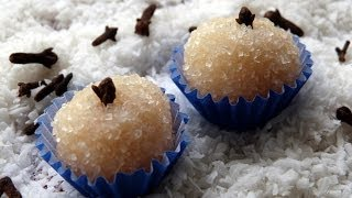Beijinhos de Coco (Brazilian Coconut Bonbons) Recipe - CookingWithAlia - Episode 308