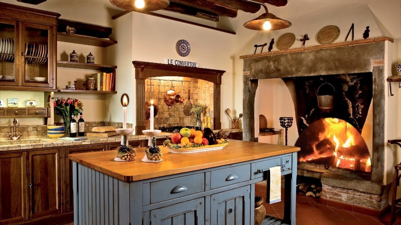 55 Cozy Country Kitchen Ideas Youtube