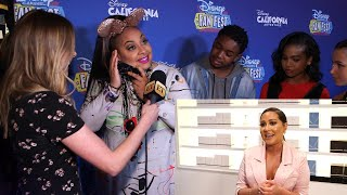 Raven-Symone Reacts to Heartfelt Message From Cheetah Girls Co-Star Adrienne Houghton (Exclusiv…