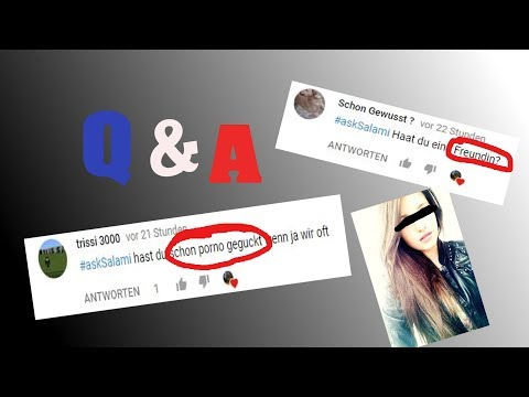 Schon Pornos geguckt?! Freundin?! #AskSalami (Q&A)