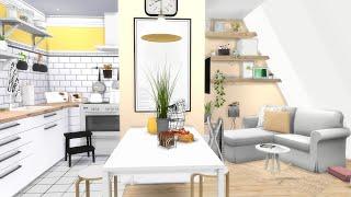 IKEA APARTMENT   The Sims 4   CC Speed Build