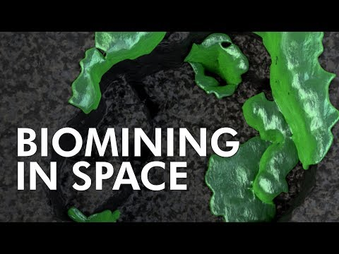 Biomining in Space