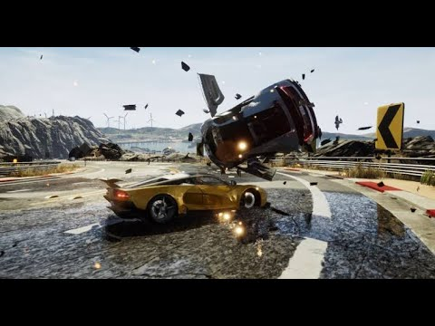 Download Burnout Revenge Game For Android PS2 ISO Highly Compressed Offline English Patched PPSSPP