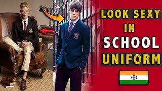 How To Look Attractive In school Uniform | School mai handsome kaise Dikhe