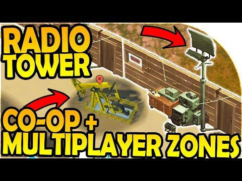 RADIO TOWER + CO-OP + MULTIPLAYER ZONES + FISHING INBOUND - Last Day On Earth Survival 1.6.8 Update