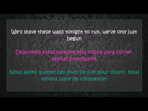 DIVA FAUNE FT. LEA PACI - GET UP  (Lyrics) (Letra en Español) (Paroles)
