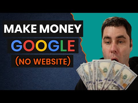 Make Money Online With Google And NO WEBSITE For Beginners 2020!