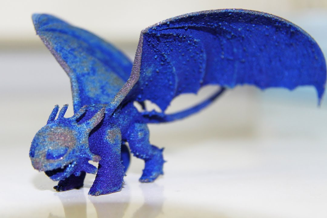A 3D Printed Dragon YouTube