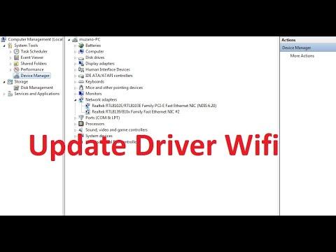 Cara mengatasi wifi adapter yang tidak terdeteksi 100% Work!.