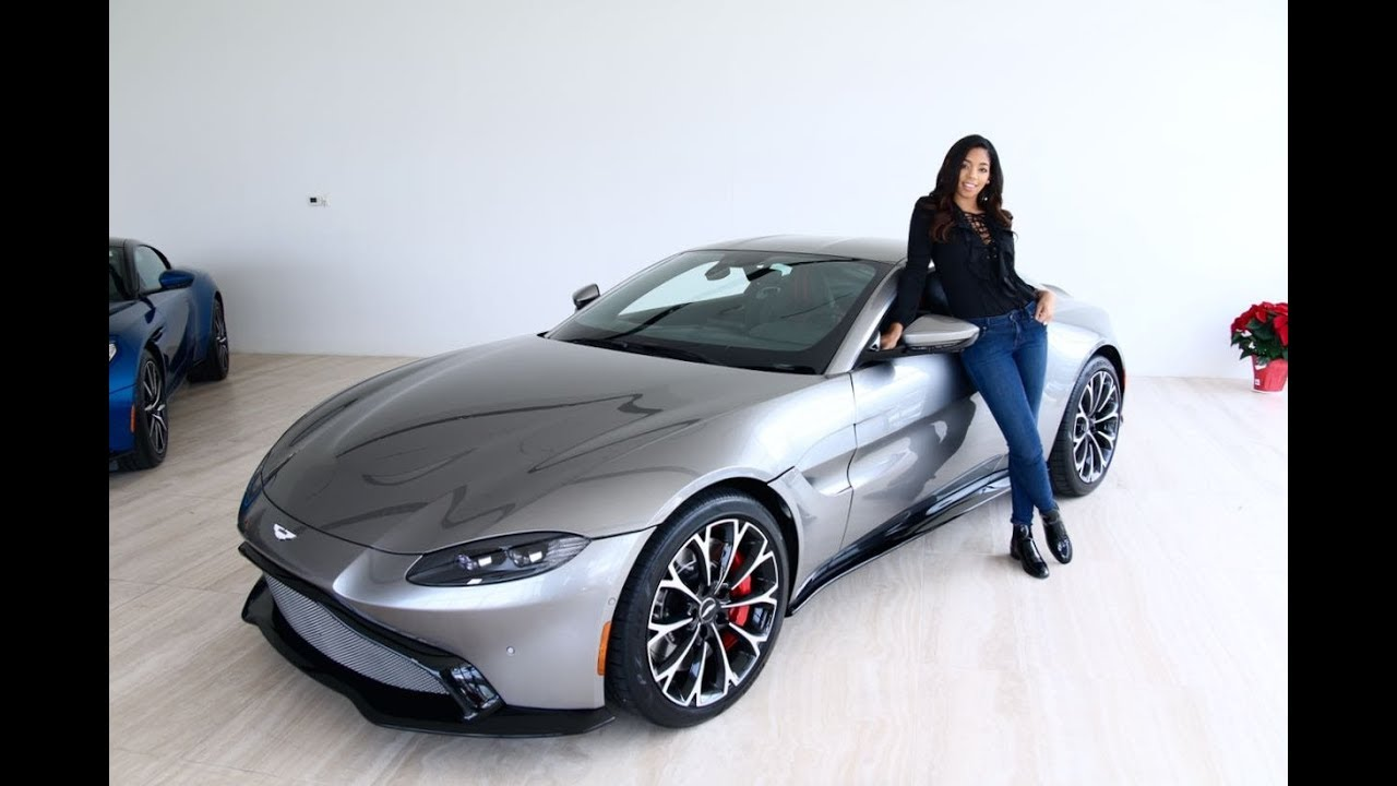 Superbe First Look At The 2019 Aston Martin Vantage With Britt Waters