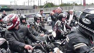 ACE CAFE REUNION 2011 ROCKERS RIDE OUT