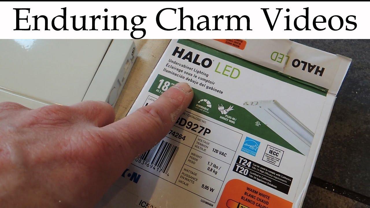 Halo Hu10 Led Under Cabinet Lighting