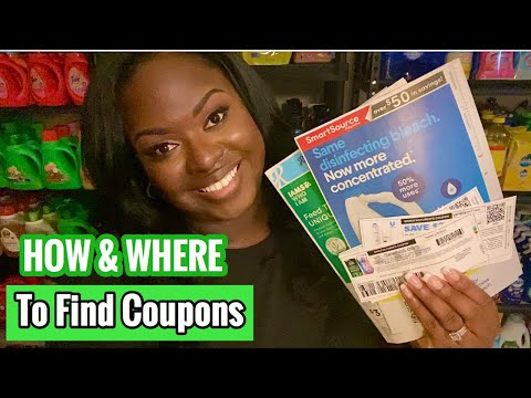 How & Where To Find Coupons In 2020 | Inserts, IPs, & Digitals | Couponing 101 For Beginners