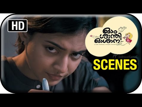 Om Shanti Oshana Movie Scenes HD | Nazriya Nazim cooks food for the first time | Renji Panicker