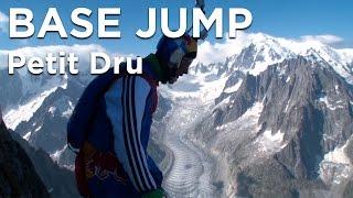 Valery Rozov Wingsuit Base Jump Le Petit Dru Chamonix Mont-Blanc - 8456