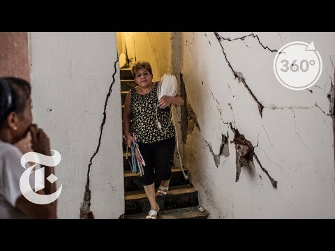 Leaving a Condemned Mexico City Building | The Daily 360