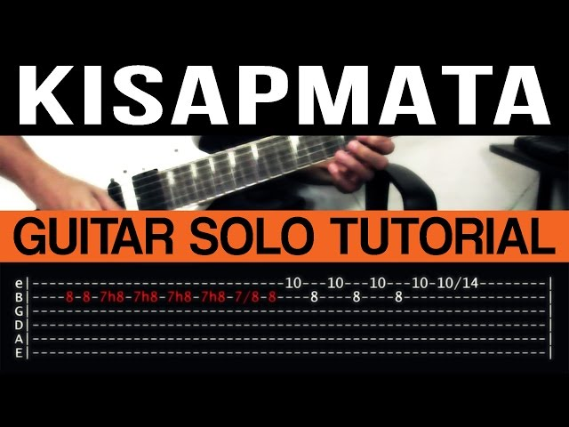 Guitar guitar chords kisapmata : Kisapmata - Rivermaya Guitar Solo Tutorial (WITH TAB) - YouTube