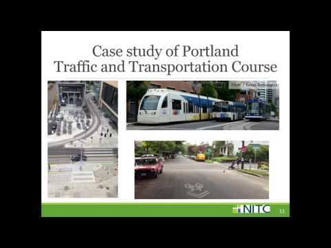 Webinar: Transportation Academy: Lessons from the Portland Traffic and Transportation Course
